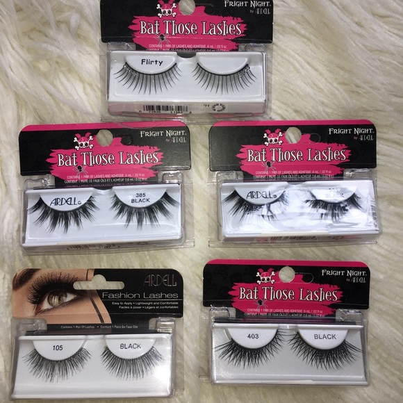 Ardell Makeup Sale Fright Night False Eyelash Bundle Nwt Poshmark